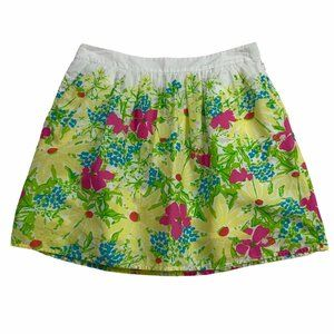 Lilly Pulitzer Mini Skirt 4 Multi-Color Floral